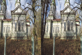 Abandoned Chernobyl Area Villages 3D SBS