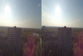 The Roofs of Pripyat 3D SBS