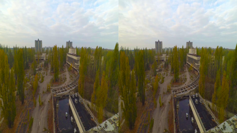 Pripyat Main Square 3D SBS